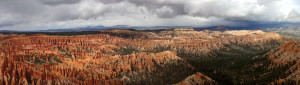 Bryce Canyon panorama & Storm 2011-04-23----14-19
